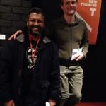 Ridwan Hassim - winner od Playwright encouragement award at crash test drama