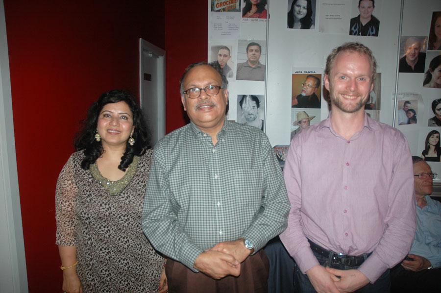 Aishveryaa Nidhi, CG Mr. Arun Kumar Goel and Pete Malicki 2