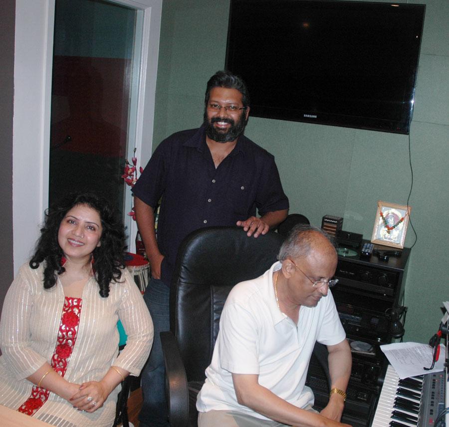 Aishveryaa, Ridwan & Kiran Pradhan