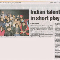 The Leader - Indian talent shines in short play class