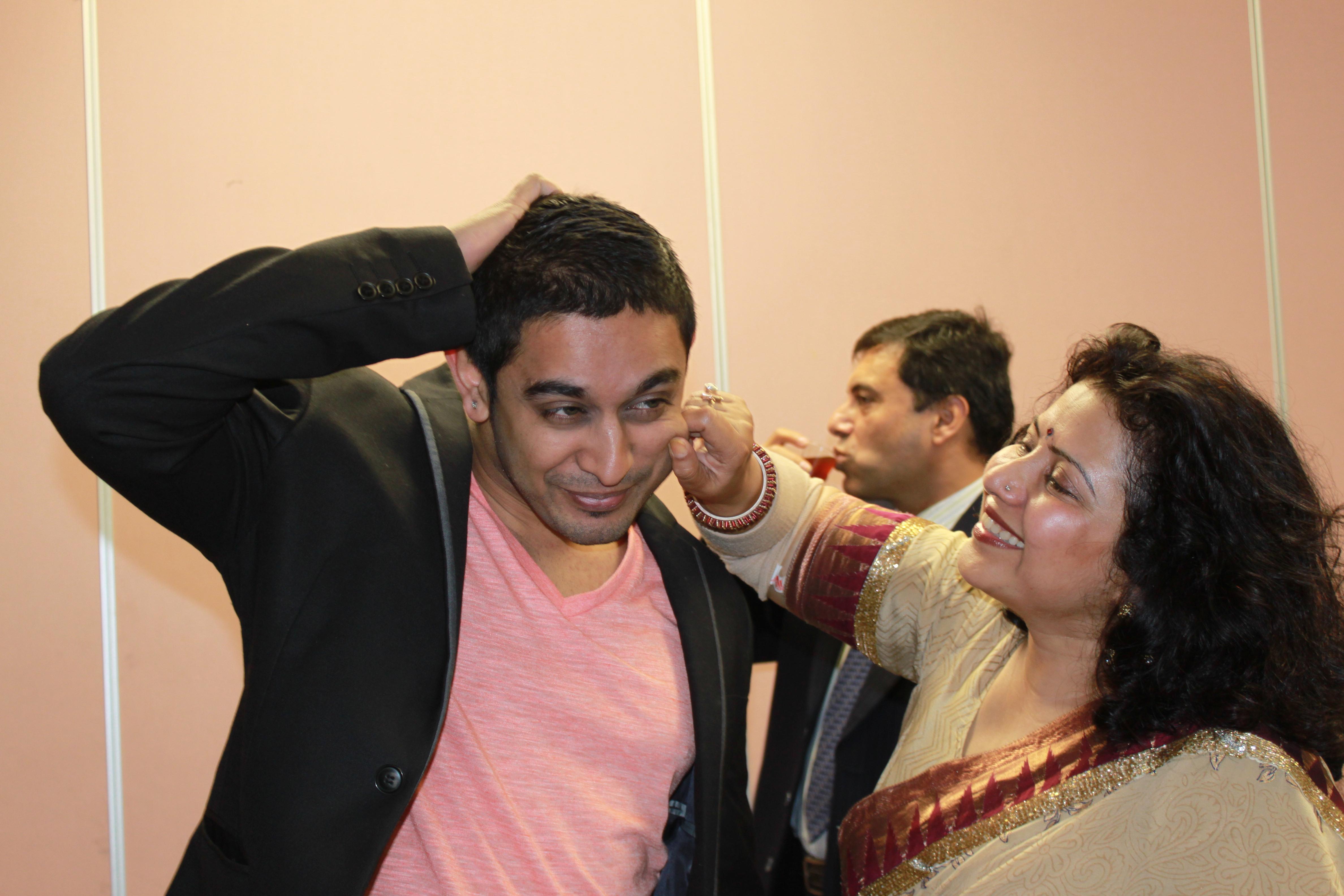 Rickardo Wesly and Aishveryaa Nidhi in Imperfectly Frank